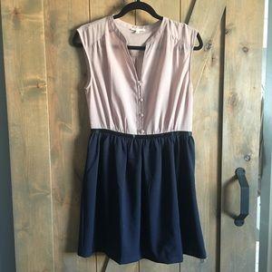 2 color dress
